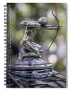 Pierce Arrow Hood Ornament Spiral Notebook