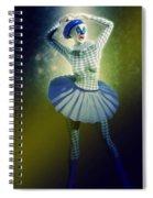 Pierrette At The Opera Spiral Notebook
