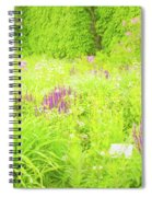Piet Oudolf Garden At Tbg Spiral Notebook