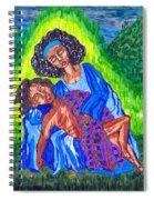 Pieta-2 Spiral Notebook