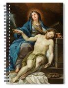 Pieta Spiral Notebook