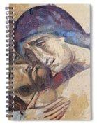 Pieta-mural Detail Spiral Notebook