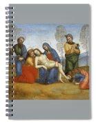 Pieta Raffaello Sanzio Da Urbino Raphael Raffaello Santi Spiral Notebook