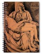 Pieta Study Spiral Notebook