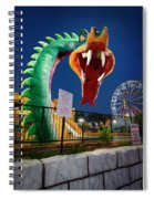 Pigeon Forge Dragon Spiral Notebook