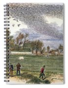 Pigeon Hunting, C1875 Spiral Notebook