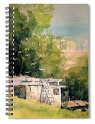 Pigeon Hut Spiral Notebook