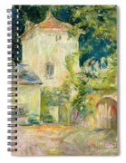 Pigeon Loft At The Chateau Du Mesnil Spiral Notebook