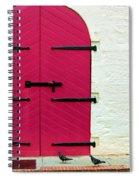 Pigeon Pink Spiral Notebook