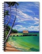 Pigeon Point   Tobago Spiral Notebook