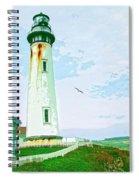 Pigeon Point Lighthouse Spiral Notebook