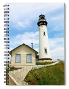 Pigeon Point Lighthouse View Spiral Notebook
