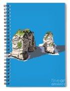 Pigeon Rocks, Beirut Spiral Notebook