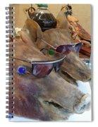 Pigs Heads Spiral Notebook