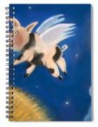 Pigs Might Fly Spiral Notebook