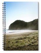Piha, New Zealand Spiral Notebook