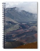 Pihanakalani Haleakala House Of The Sun Summit Maui Hawaii Spiral Notebook