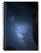 Pike National Forest Milky Way Spiral Notebook