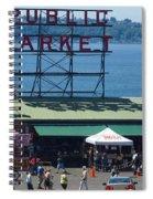 Pike Place Public Market Spiral Notebook
