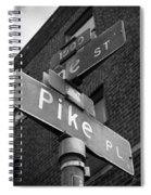 Pike Place Seattle Spiral Notebook
