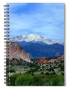 Pikes Peak And Garden Of The Gods 1 Spiral Notebook