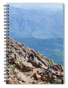 Pikes Peak Marathon And Ascent Spiral Notebook