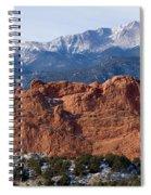 Pikes Peak Over The Garden Spiral Notebook