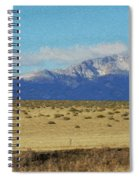 Pikes Peak Painterly Spiral Notebook