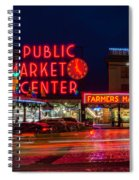 Pikes Place Market Spiral Notebook