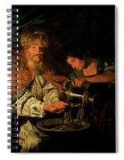 Pilate Washing His Hands Spiral Notebook