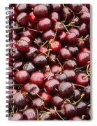Pile Of Cherries Spiral Notebook