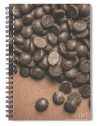 Pile Of Chocolate Chip Chunks Spiral Notebook