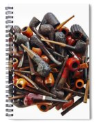 Pile Pipes Spiral Notebook