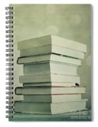 Piled Reading Matter Spiral Notebook