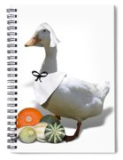 Pilgrim Duck Spiral Notebook