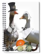 Pilgrim Ducks Spiral Notebook