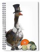 Pilgrim Goose Spiral Notebook