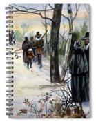 Pilgrims: Church Spiral Notebook
