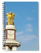 pillar for the 50th anniversary of India, Chennai, Tamil Nadu Spiral Notebook