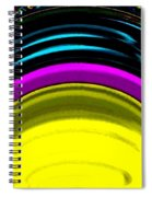 Pillar Of Light Spiral Notebook