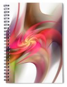 Pin Wheel 2 Spiral Notebook