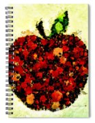 Pinatamiche Painting Crackle Art Spiral Notebook
