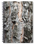 Pine Bark Spiral Notebook