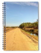 Pine Barrens Of New Jersey Cranberry Harvest Bogs  Spiral Notebook