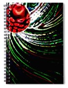 Pine Cone Abstract Spiral Notebook