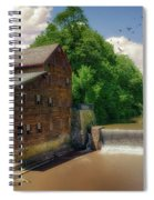 Pine Creek Gristmill Spiral Notebook
