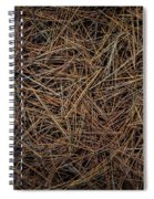 Pine Needles On Forest Floor Spiral Notebook