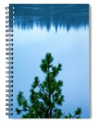 Pine On The River Spiral Notebook