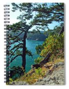 Pine Over The Bay Spiral Notebook