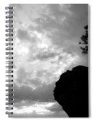 Pine Silhouette Spiral Notebook